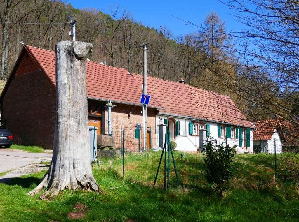Liebevoll renoviertes Sandstein-Bauernhäuschen in schöner Lage
