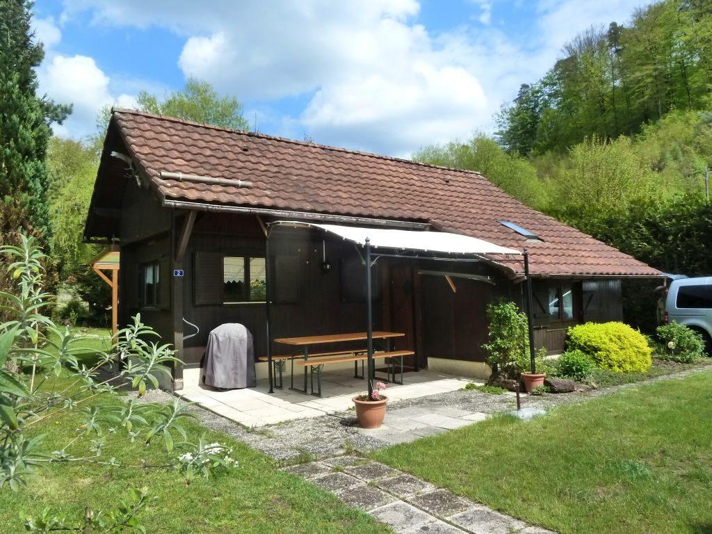 Kleines, nettes und sehr gepflegtes Ferienhaus in schöner Randlage