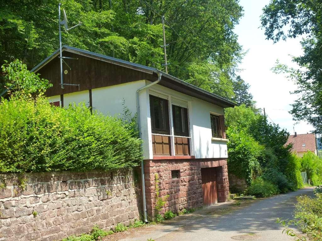 Gemütliches Wohn-Ferienhaus mit großem Grundstück in ruhiger Waldrandlage