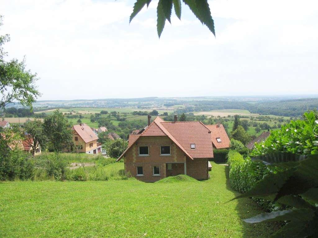 Großzügiger 1-Familien-Haus-Rohbau zum Fertigstellen in sehr schöner Aussichtslage